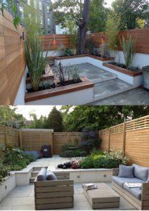 Create levels in gardens